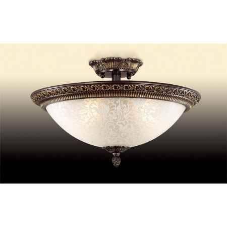Купить Бра ODEON LIGHT 2587/3A ODL14 043, G9 60W 220V Maipa, бронзовый/белый
