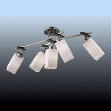 Купить Люстра ODEON LIGHT 2283/5C ODL12 386, E27 5*60W 220V NUKI, никель/ венге