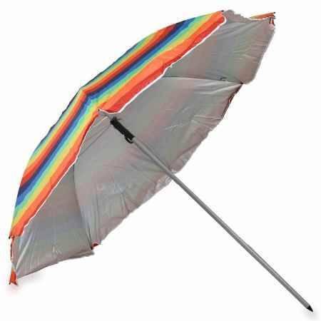 Купить Зонт пляжный Monza 411551999, 200см, цвет радуга