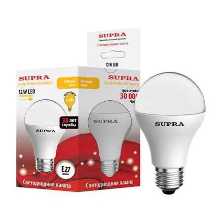 Купить Упаковка ламп 10 шт SUPRA SL-LED-PR-A60-12W/3000/E27