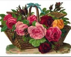 Как сделать корзину с цветами?