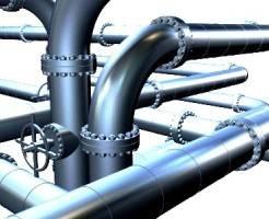 Монтаж трубопроводов из стальных труб
