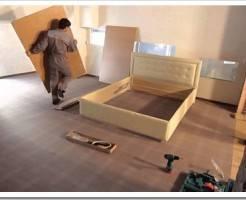 Как собрать односпальную кровать?