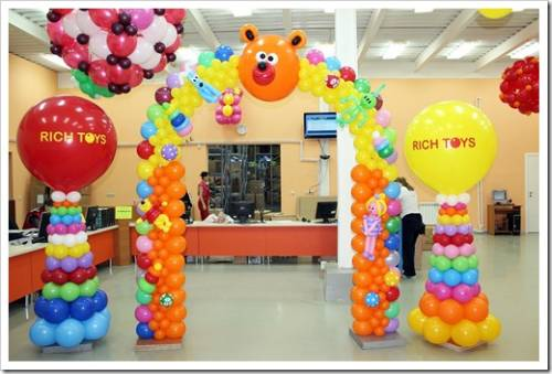 Самостоятельная покупка воздушных шаров