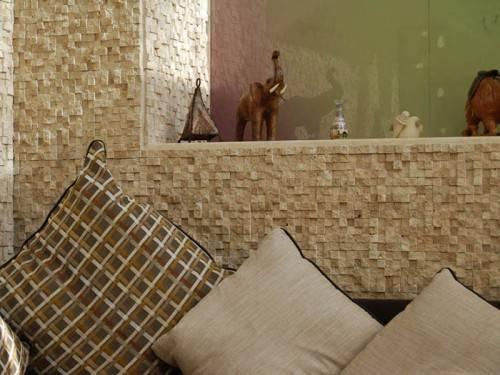 Мозаика из наурального камня в интерьере