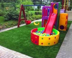 Виды покрытий для детских площадок