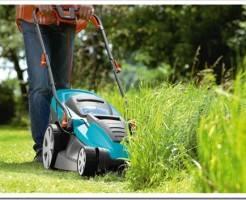 Виды садовой техники