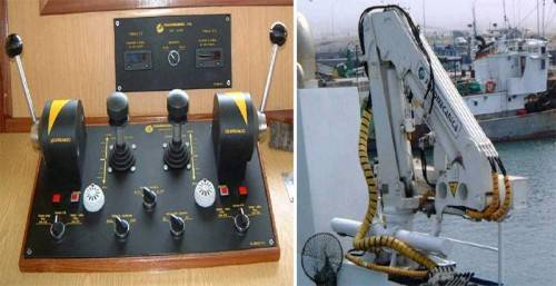 пульт управления манипюлятором