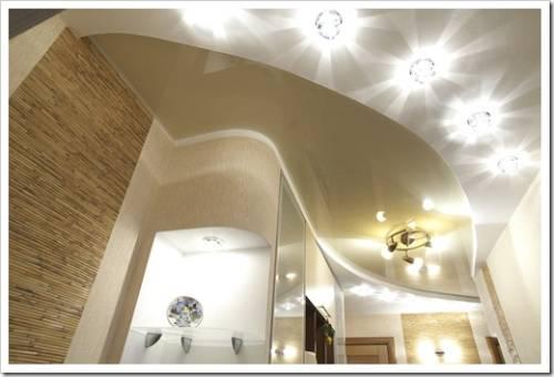 Методики установки потолочных светильников