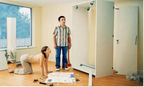 Как собрать корпусную мебель