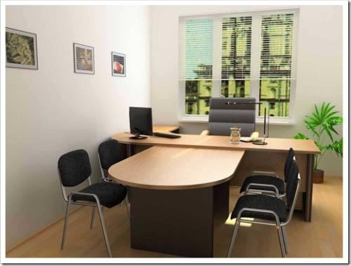 Основные правила в отношении размещения мебели в офисе