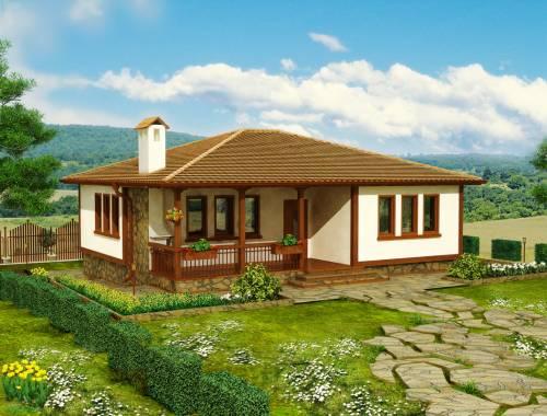 Как построить одноэтажный дом своими руками