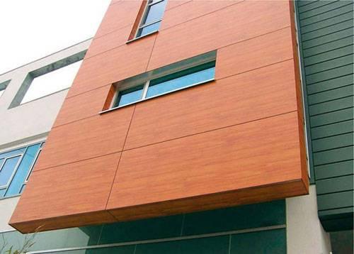 Фасадные панели: виды