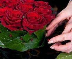 Как сделать букет из роз