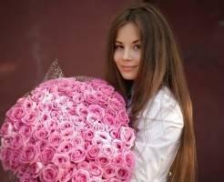 Как собрать букет из 101 розы