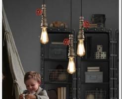 Как установить подвесные светильники?