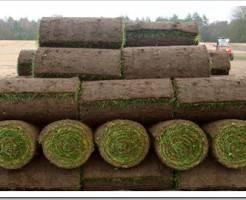 Как укладывать рулонный газон на склоне?