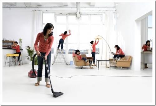 Использование моющих пылесосов и отпаривателей