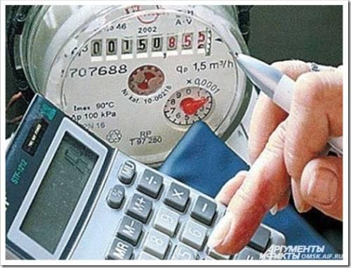Передача показаний счётчика по телефону