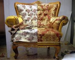 Что такое перетяжка мебели