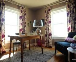Какие шторы повесить в кабинете