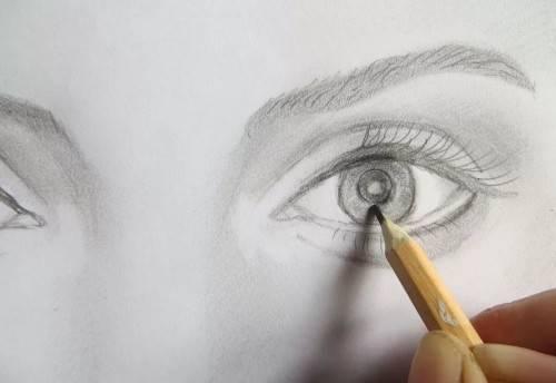 как научитьтся рисовать карандашом