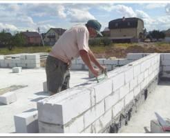 Как строить дом из газобетона?