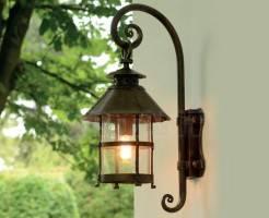 Как устанавливать уличные светильники