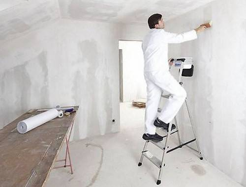 Как подготовить стены к обоям