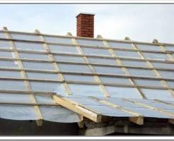 Как уложить пароизоляцию на крышу?
