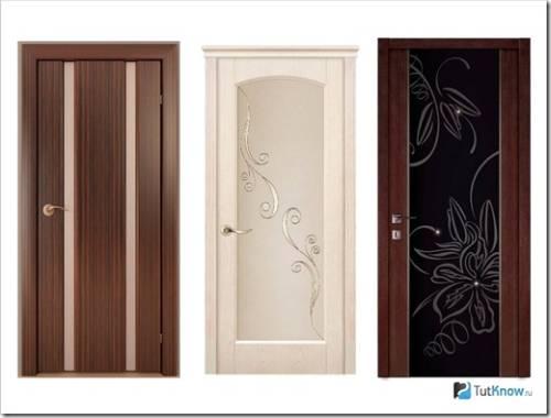 Покрытия на межкомнатных дверях