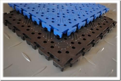 Принцип производства ПВХ плитки
