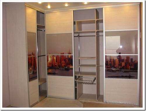 Пятистенка и тип дверей шкафа