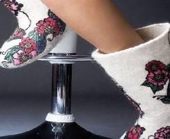 Как почистить валенки