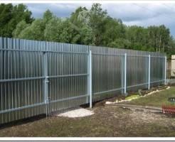 Как построить забор своими руками?