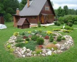 Как сделать ландшафтный дизайн дачного участка