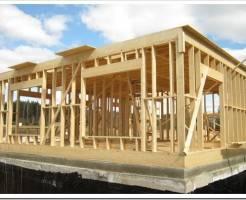 Каркасный деревянный дом: экономично и экологично