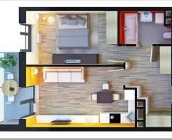 Как из однокомнатной квартиры сделать двухкомнатную?