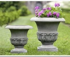 Как сделать вазон из цемента своими руками?