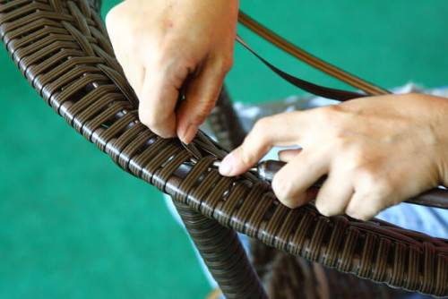 Как делать мебель из ротанга