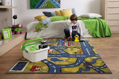 Что постелить на пол в детской комнате