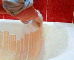 Как реставрируют акриловые ванны