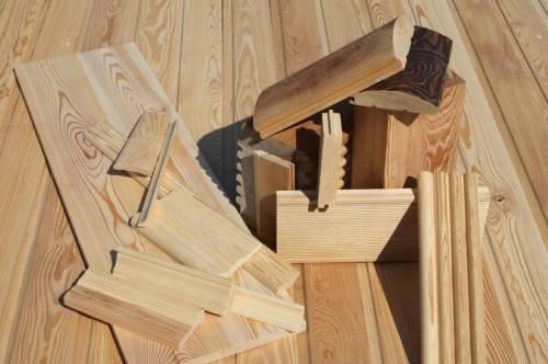 Виды отделочных пиломатериалов из древесины