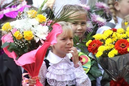 Какие цветы купить на 1 сентября
