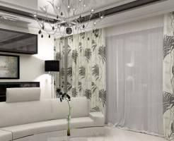 Как выбрать шторы в гостиную: советы и фото