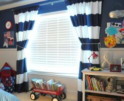 Какие шторы выбрать в детскую комнату