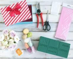 Как сделать коробку с цветами своими руками