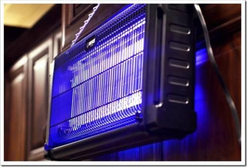 Принцип работы инсектицидных ламп