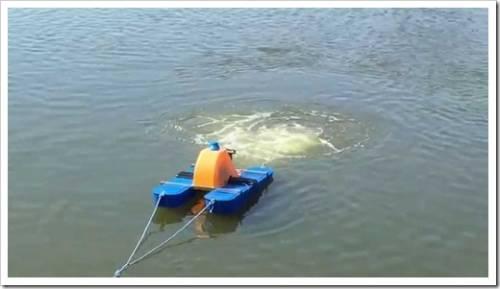 Виды аэраторов для искусственных водоёмов