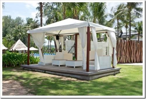 Садовый шатёр и туристический